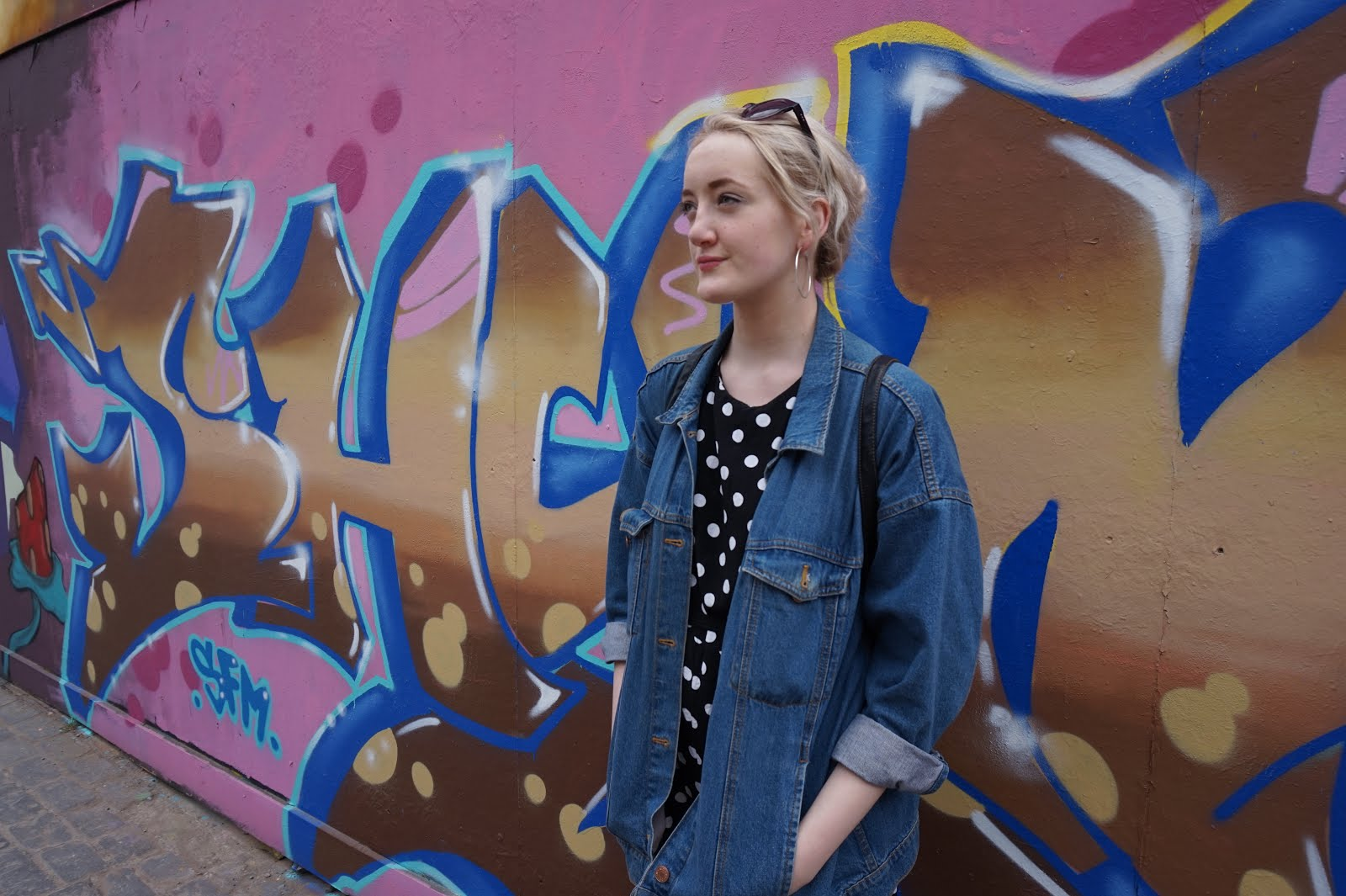 Retro Street Style Polka Dots And All Stars Urbanity